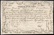 Colonial Currency, New Hampshire April 3, 1755 c 1850 Cohen Reprint