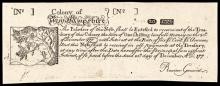 Colonial Currency, New Hampshire April 3, 1742 20 Shillings c 1850 Cohen Reprint