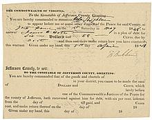 1848 JOHN BROWN HARPERS FERRY RAID, Participants, SIGNED Document