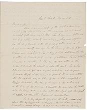 1850 SALMON P. CHASE Exceptional Fiery Political Content Autograph Letter Signed
