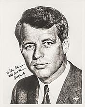 ROBERT F. KENNEDY Inscribed and Signed Photograph