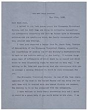 American Aviator CHARLES A. LINDBERGH Autograph Letter Signed in 1936