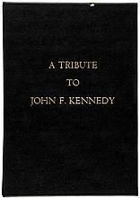c. 1964, Commemorative Book entitled, A Tribute to John F. Kennedy