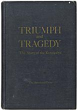 TRIUMPH and TRAGEDY, STORY OF THE KENNEDYS. Dave Powers PERSONAL COPY