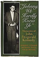1972-Dated Hardcover JFK Commemorative Book: Johnny, We Hardly Knew Ye