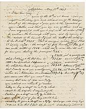 1863 WILLIAM JOHNSTON Great Content ALS Civil War + Emancipation Proclamation !