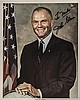 Astronaut JOHN GLENN Signed Classic Color Photo