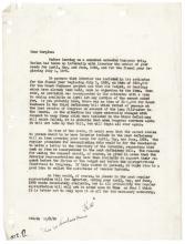 GUTZON BORGLUM Great 8 Letter Archive Regarding Mount Rushmore Memorial Project!