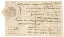 SAMUEL HUNTINGTON as Continental Congress President, Signer of the Declaration