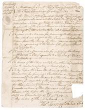 1780 Manuscript Document, Revolutionary War Orders for Cambridge, Mass.