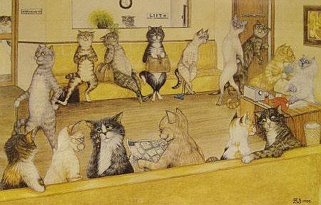 Zoe Stokes - Cats Attending a Job Interview,
