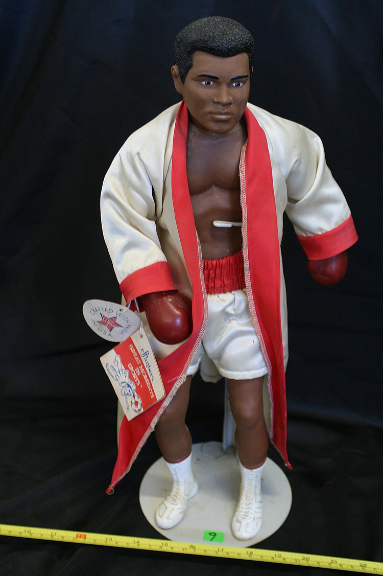 "Muhammad Ali ""Great Moments in Sports"" boxing Doll"
