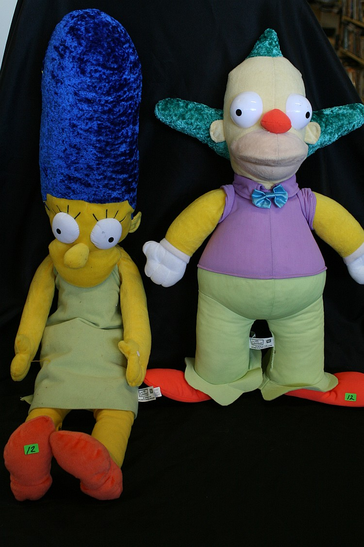 SIMPSONS STUFFED DOLLS