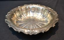 RIBBED STERLING SILVER BOWL - 10