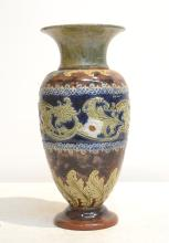 LARGE ROYAL DOULTON LAMBETH VASE