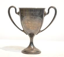 STERLING SILVER POLICE TROPHY ; DATED 1905