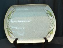 19tHC ROYAL WORCESTER TRAY - 19