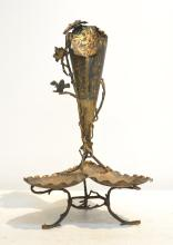 AESTHETIC AUSTRIAN BRONZE FOOTED EPERGNE