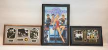 (3)pc LOT INCLUDING 3D PHOTO COLLAGE OF THE