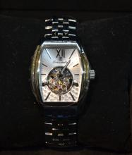 LOUIS BOLLE AUTOMATIC SKELETON WATCH