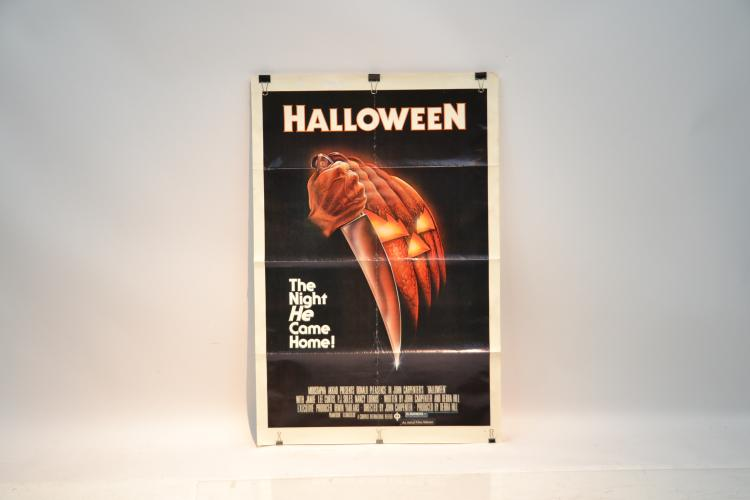 Movie poster for original halloween