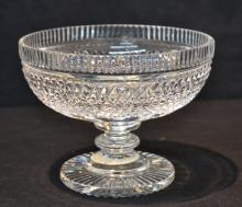 WATERFORD CRYSTAL PEDESTAL BOWL