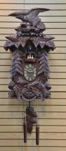 VERY LARGE BATTERY OPERATED CUCKOO CLOCK