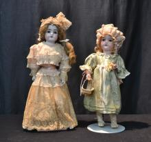 GERMAN AM 390 BISQUE HEAD DOLL - 15