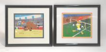 (2) HAND PAINTED WOODY WOODPECKER ANIMATION CELLS
