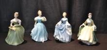 (4) ROYAL DOULTON FIGURINES -