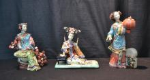 (3) CHINESE PORCELAIN FIGURES - 11
