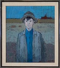 Heliker, John. (American, 1909-2000). FARM BOY.