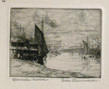 Summers, Ivan (American, 1889-1964). GLOUCESTER HARBOR.