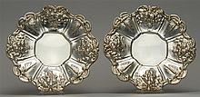 TWO REED & BARTON STERLING SILVER DISHES In the
