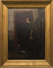 ATTRIBUTED TO CHARLES WEBSTER HAWTHORNE, American, 1872-1930,