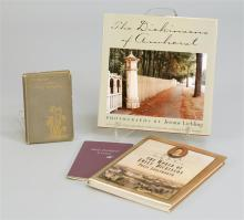FOUR BOOKS PERTAINING TO EMILY DICKINSON 1) Dickinson, E., Poems. Boston: Roberts Brothers, 1893. 11th ed. Copyright 1890 by Roberts...