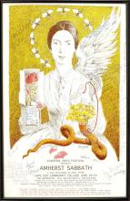 FRAMED THEATRE POSTER From the play