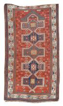 ORIENTAL RUG: KAZAK PRAYER 3'3