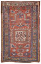 ORIENTAL RUG: KAZAK PRAYER 4'8