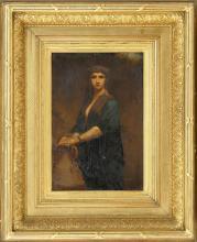 CHARLES ZACHARIE LANDELLE, French, 1821-1908,