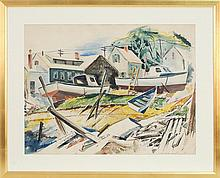 MARSTON DEAN HODGIN, American, 1903-2003,