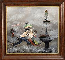RALPH EUGENE CAHOON, JR., Cape Cod, 1910-1982,
