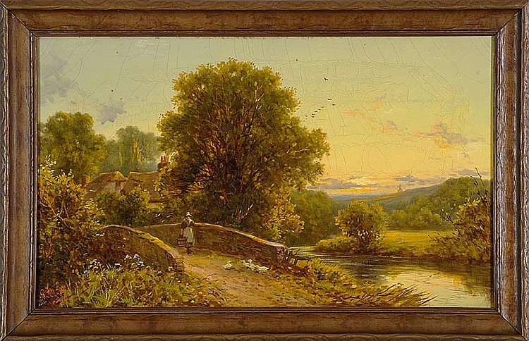 ROBERT ROBIN FENSON, English, 19th/20th Century,
