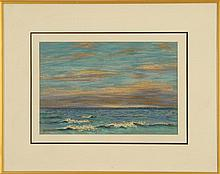 FRAMED PASTEL Depicts an East Dennis, Massachusetts shore scene. Signed and dated lower right