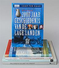 (DUTCH) Five books in Dutch. 1) Habiboe, R.R.F., Tot verheffing van mijne natie. Dordrecht, 2004. Folio. Paper-covered boards. 2) Br...