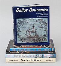(MARITIME: GENERAL) Five books. 1) Randier, J., Nautical Antiques for the Collector. N.Y., 1977. Q. Cloth. Dj. 2). Ball, R.W.D., Nau...