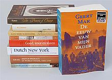(SLAVERY & DUTCH MARITIME HISTORY) Five hardcover and four softcover books. Provenance: The Collection of Benno Brenninkmeyer.