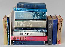 (WHALING) Approx. nineteen assorted books and pamphlets on whaling. Provenance: The Collection of Benno Brenninkmeyer.