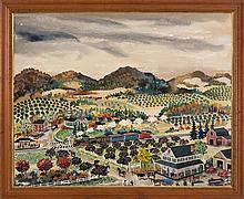 MAXWELL MAYS, American, 1918-2009,