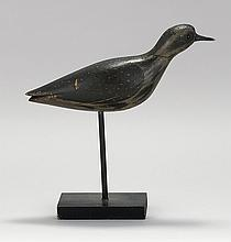 GOLDEN PLOVER DECOY From Massachusetts. In running form. Tack eyes. Original paint. Minor wear.